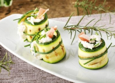 Rollete courgette