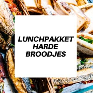Lunch catering Harde broodjes