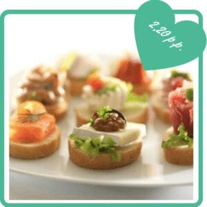 Catering - Borrelhapjes - canapes